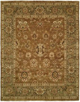 "Kalaty OUSHAK Brown Runner 2'6"" X 12'0"" Area Rug OU-452 2612 835-133635"