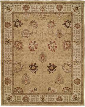 Kalaty OUSHAK Yellow Rectangle 12x18 ft Wool Carpet 133677