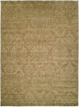 Kalaty ROYAL MANNER DERBYSH Green Square 7 to 8 ft Wool Carpet 133936