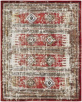 "Kalaty SOLSTICE Red Runner 2'6"" X 10'0"" Area Rug SC-062 2610 835-134934"