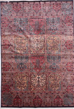"Hamedan Multicolor Hand Knotted 5'11"" X 8'6""  Area Rug 905-135727"