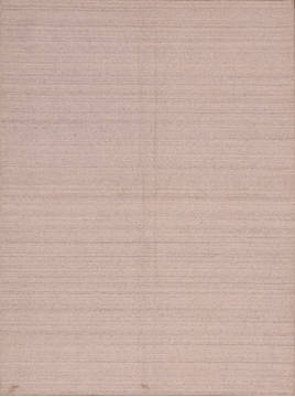 "Modern-Contemporary White Hand Loomed 5'2"" X 6'11""  Area Rug 301-135805"