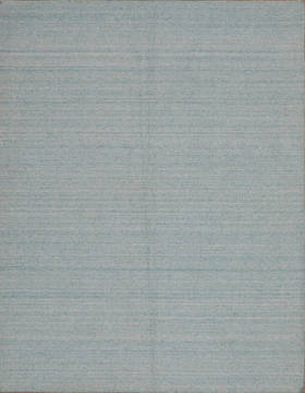 "Modern-Contemporary Blue Hand Loomed 5'4"" X 6'11""  Area Rug 301-135806"