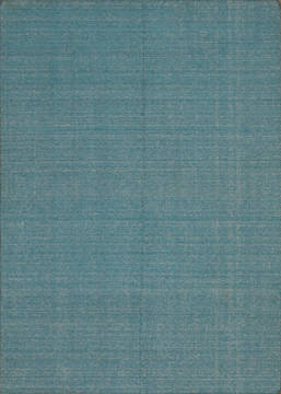 "Modern-Contemporary Blue Hand Loomed 5'1"" X 7'0""  Area Rug 301-135807"