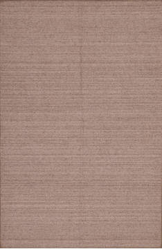 "Modern-Contemporary Grey Hand Loomed 5'1"" X 6'11""  Area Rug 301-135808"