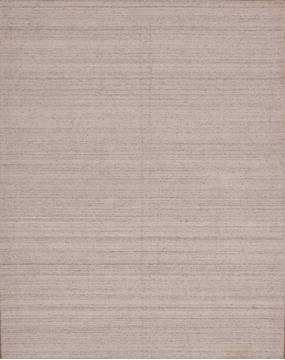 "Modern-Contemporary Grey Hand Loomed 5'4"" X 6'11""  Area Rug 301-135810"