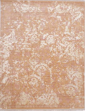 "Jaipur Brown Hand Knotted 8'0"" X 10'2""  Area Rug 905-135815"