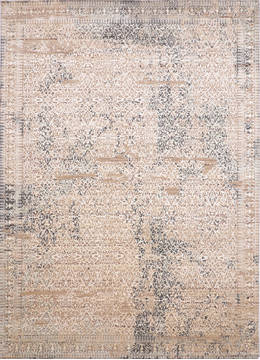 "Jaipur Beige Hand Knotted 9'0"" X 12'4""  Area Rug 905-135942"