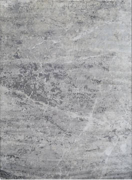 "Modern Grey Square Hand Knotted 8'0"" X 8'0""  Area Rug 903-136193"