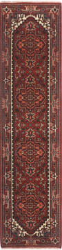 Indian vintage Multicolor Runner 10 to 12 ft Wool and Cotton Carpet 136503