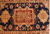 Kazak Multicolor Hand Knotted 310 X 55  Area Rug 254-136513 Thumb 4