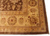 Ziegler Brown Hand Knotted 120 X 153  Area Rug 254-136516 Thumb 5