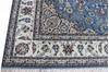 Nain Blue Hand Knotted 40 X 60  Area Rug 902-136765 Thumb 1