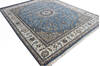 Nain Blue Hand Knotted 40 X 60  Area Rug 902-136765 Thumb 3