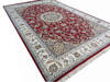 Nain Red Hand Knotted 40 X 60  Area Rug 902-136769 Thumb 1