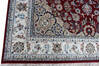 Nain Red Hand Knotted 40 X 60  Area Rug 902-136769 Thumb 2