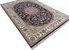 Nain Blue Hand Knotted 40 X 60  Area Rug 902-136773 Thumb 3