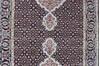 Mahi Black Runner Hand Knotted 25 X 80  Area Rug 902-136785 Thumb 2