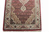 Mahi Red Runner Hand Knotted 25 X 80  Area Rug 902-136786 Thumb 1