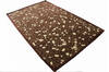 Modern-Contemporary Brown Hand Tufted 50 X 80  Area Rug 902-136787 Thumb 3