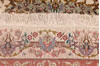 Tabriz Beige Hand Knotted 66 X 102  Area Rug 254-136999 Thumb 1
