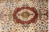 Tabriz Beige Hand Knotted 66 X 102  Area Rug 254-136999 Thumb 4