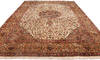 Tabriz Beige Hand Knotted 100 X 1310  Area Rug 254-137000 Thumb 2
