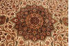 Tabriz Beige Hand Knotted 100 X 1310  Area Rug 254-137000 Thumb 3