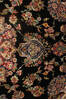 Tabriz Black Hand Knotted 82 X 113  Area Rug 254-137008 Thumb 6