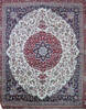 Nain White Hand Knotted 90 X 120  Area Rug 905-137142 Thumb 0
