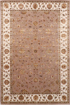 "Jaipur Grey Hand Knotted 6'0"" X 9'1""  Area Rug 905-137496"