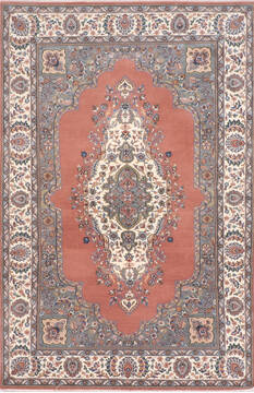 "Mahi Purple Hand Knotted 6'2"" X 9'3""  Area Rug 905-137594"