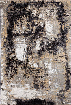 "Modern Brown Hand Knotted 6'1"" X 8'10""  Area Rug 700-137657"