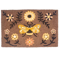"Jellybean Fall Brown 1'8"" X 2'6"" Area Rug JB-JB165 815-137768"