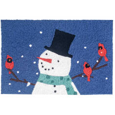 "Jellybean Holiday Blue 1'8"" X 2'6"" Area Rug JBL-BT074 815-137792"