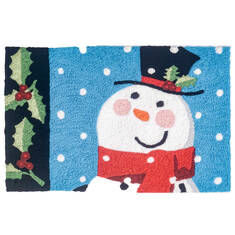 "Jellybean Holiday Blue 1'8"" X 2'6"" Area Rug JBL-SFG054 815-137812"