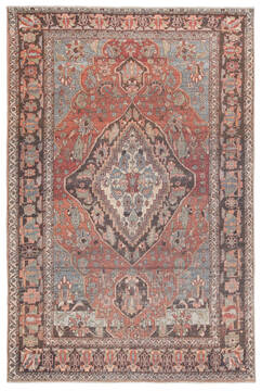 "Jaipur Living Boheme Red 4'0"" X 6'0"" Area Rug RUG145981 803-138383"