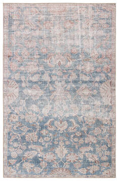 "Jaipur Living Chateau Blue 5'0"" X 7'6"" Area Rug RUG146214 803-138452"