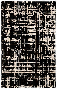 "Jaipur Living Clayton Black 5'0"" X 8'0"" Area Rug RUG143936 803-138511"