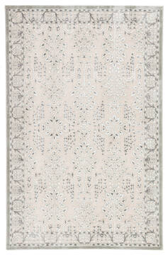 Jaipur Living Fables Grey Runner 6 to 9 ft Acrylic and Rayon and Polyester Carpet 138776