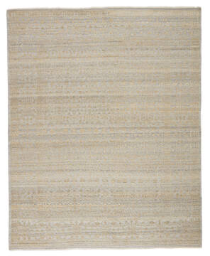 Jaipur Living Gaia Beige Rectangle 8x10 ft Wool and Viscose Carpet 138837
