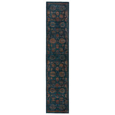 Jaipur Living Myriad Blue Runner 10 to 12 ft Polypropylene and Polyester Carpet 139122