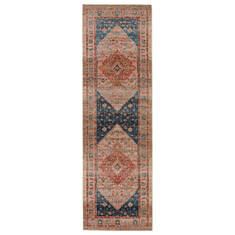 "Jaipur Living Myriad Red Runner 2'6"" X 8'0"" Area Rug RUG146850 803-139141"