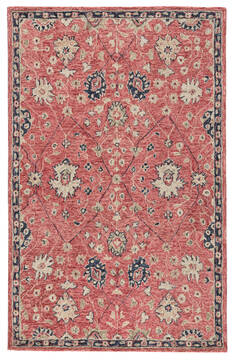 "Jaipur Living Province Red 5'0"" X 8'0"" Area Rug RUG143990 803-139314"