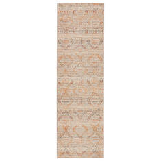 "Jaipur Living Rhythmik By Nikki Chu Grey Runner 2'6"" X 8'0"" Area Rug RUG146006 803-139380"
