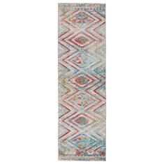 "Jaipur Living Rhythmik By Nikki Chu Grey Runner 2'6"" X 8'0"" Area Rug RUG145844 803-139396"