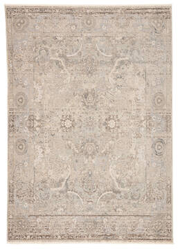 Jaipur Living Vienne Grey Rectangle 10x12 ft Polyester and Viscose Carpet 139744