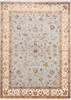 Jaipur Blue Hand Knotted 50 X 71  Area Rug 905-139966 Thumb 0