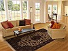 Pak-Persian Beige Hand Knotted 63 X 94  Area Rug 251-14156 Thumb 4