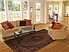 Mood Multicolor Hand Knotted 82 X 113  Area Rug 251-14172 Thumb 4